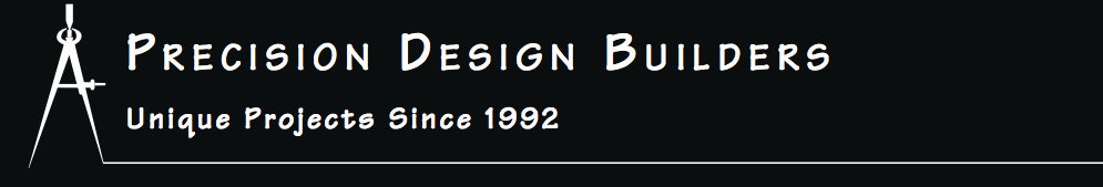 Precision Design Builders, Inc. header image