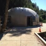 Concrete Dome house
