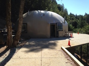 Concrete Dome house